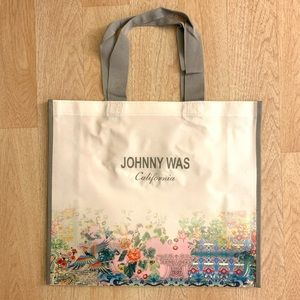 NEW Johnny Was Shopping Bag Large Size